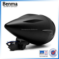 Cool black designed classical barrier type head light,motorcycle/atv/dirt bike/electric bike/off road head light