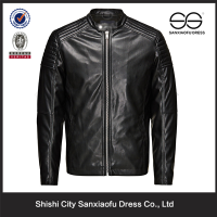 New Arrival Leather Motorbike Jacket Design For Men, Wholesale Fashion Custom Wear