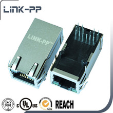amp RJ45 Cat 5/Cat6 Lan Ethernet Splitter RJ45 Connector With 90 Degree