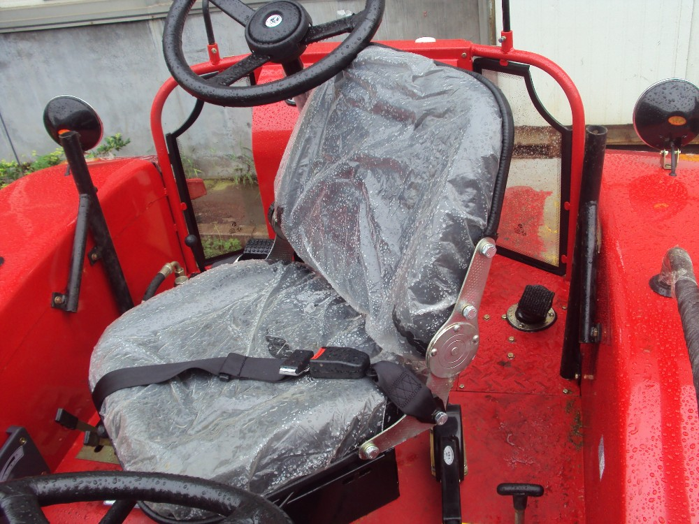 double way drive DQ1204, rear way drive, bothway, two steering wheel farm tractor