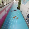 primary school customized anti slip PVC floor