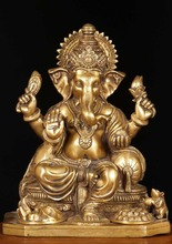 wholesale indian crafts bronze ganesha statue for sale