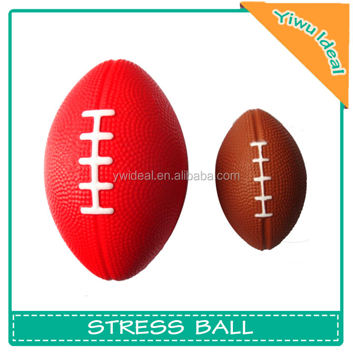 Mini American Football Anti Stress PU Foam Ball