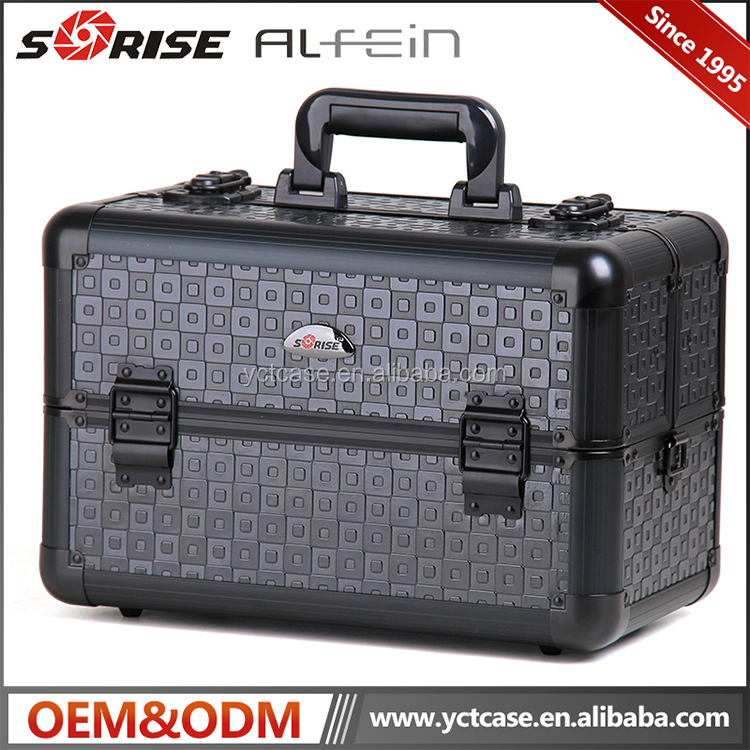 Top Design hard Portable Makeup Case / Professional cosmetic case for sales