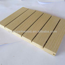 High quality MDF advanced acoustic Wood grooved panels