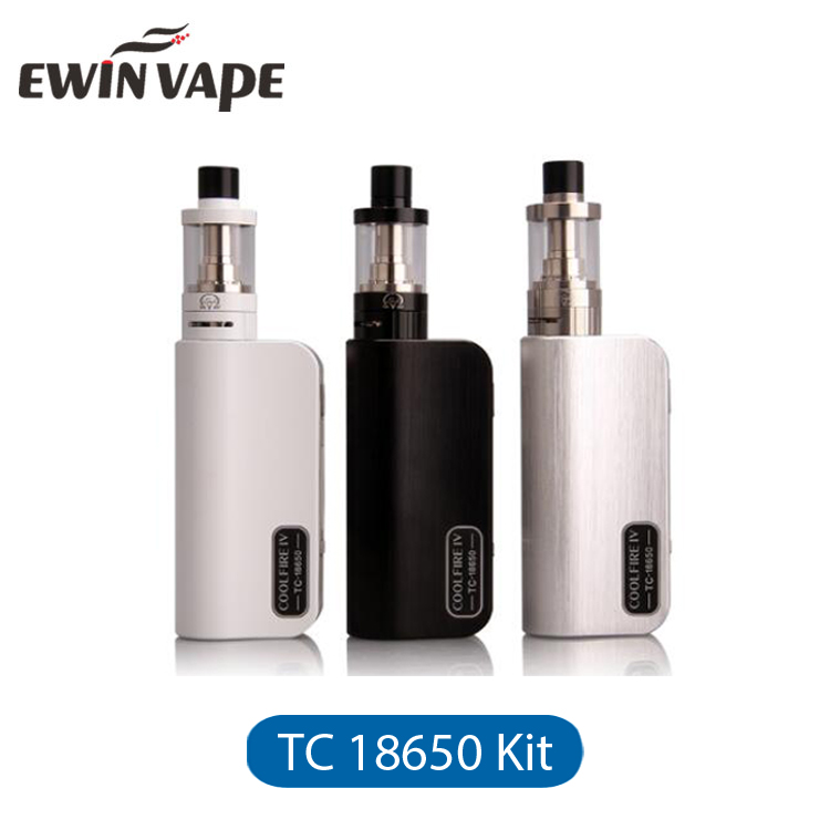 Original Innokin Cool Fire IV Coolfire 4 TC18650 Kit with iSub V Atomizer