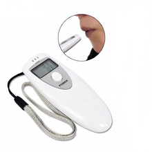 2018 LED Display Digital Portable Breath personal Breathalyzers Alcohol Tester with Mouthpiece