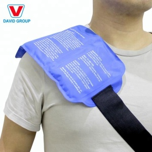Reusable Ice Pack with Strap Soft Flexible Gel Pack for Hot and Cold Therapy