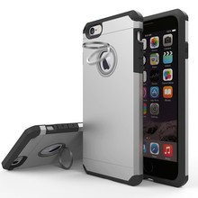 for iphone 7 heavy duty case, 360 Degree Rotating Kickstand Ring Stand Case Cover