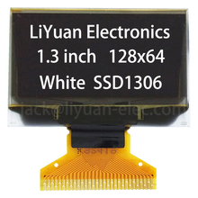 1.3 '' inch 128x64 SSD1306 30pin I2C SPI small oled lcd display screen