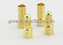 3.5mm gold plated banana plug