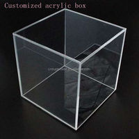 Costomized 6 Sides Clear Acrylic Box