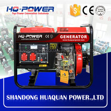 portable power mini 3kw low noise diesel generator