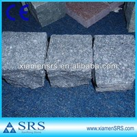 China flamed Green porphyry stone paver