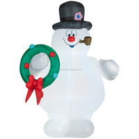 Wholesale christmas inflatable resin outdoor snowman decorations