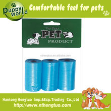 Hot sell pet garbage bags/pet waster bags/high quality dog poop bags wholesale