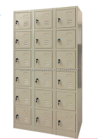 space saving home furniture steel 18 door shoe storage cabinet