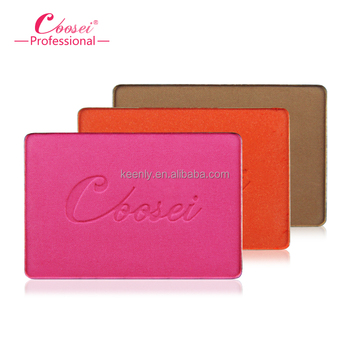 Beauty square color blusher for makeup /color cheek blush cosmetics/face blush powder
