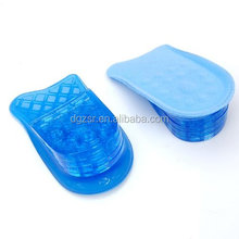 Silicone Height Increase Insoles /Shoe Lifts Half Elevator Insoles/silicone shoe pads for Men Women