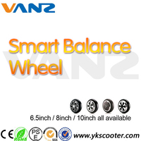 8inch 2 wheels balance scooter self balancing hover board electric unicycle smart balance wheel with LED Light