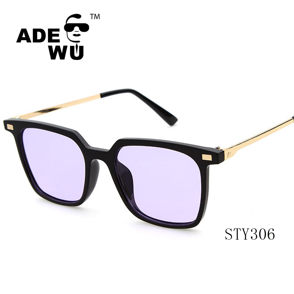 ADE WU 2016 Retro classic square frame simple liberality sunglasses STY306