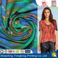 2014 fashion style printed rayon fabric