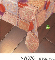 colored printed square sofra plastic table cover