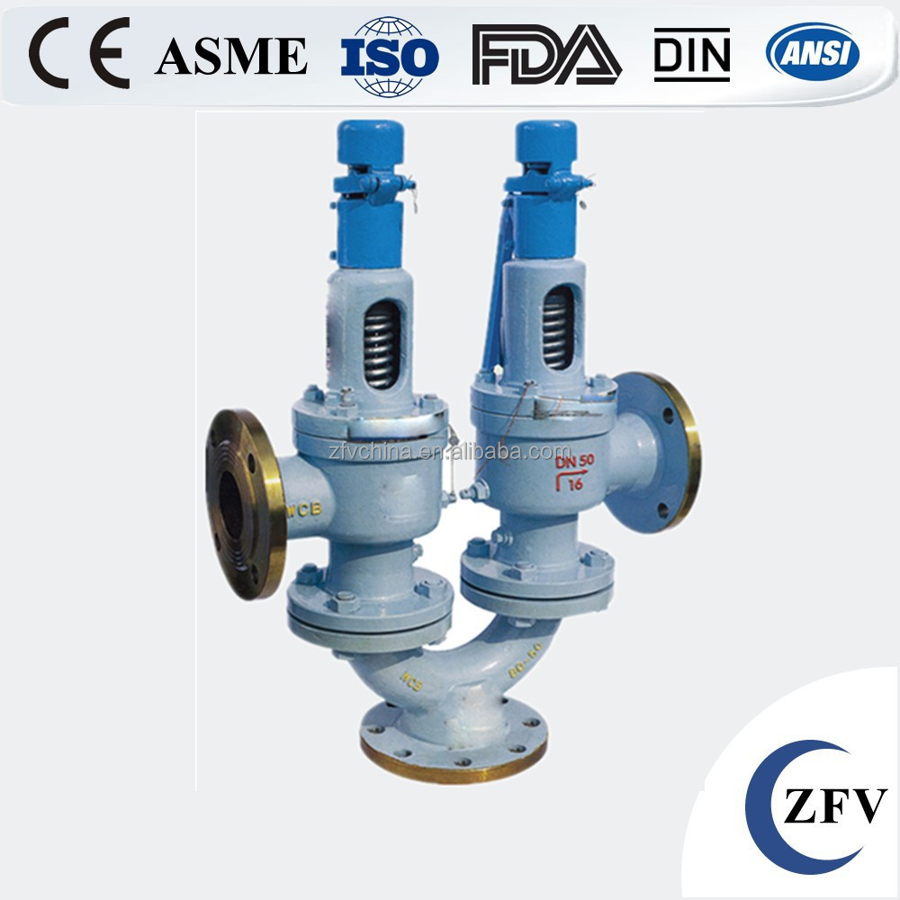 Hot sale factory price double spring loaded safety high pressure reducing valve