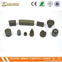 Corrosion preventive full types coss-tpye cemented carbide mining drill bits
