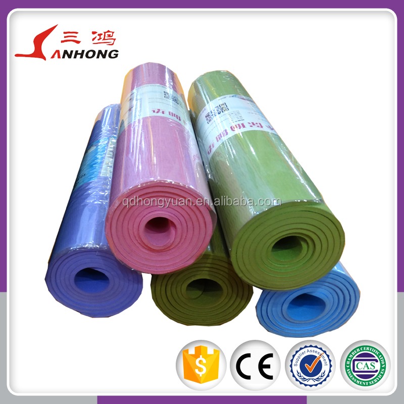 china factory direct sale gym mat yoga, foam exercise mat