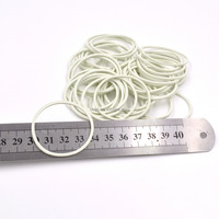 White elastic factory direct sale cheap rubber band