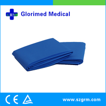 Sterilized PP NW+ PE Laminated Surgical Drape with Hole from Suzhou