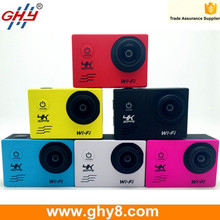 Hot Selling 2.0inch Allwinner V3 16M Pixels 170 Degree Ultra Wide Degree Wifi Action Camera 4K 30fps