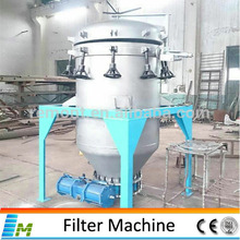 Automatic Slagging Crude Oil Vertical Leaf Filter