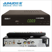 Digital tv analog converter Set top box cable tv decoder T2/ATSC/ISDB