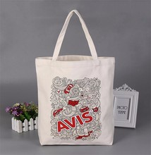 wholesale customized logo cotton grocery bag