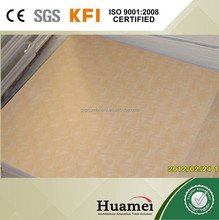 suspended gypsum board ceiling