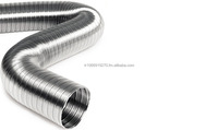 SEMI-FLEXIBLE ALUMINIUM AIR DUCT AND PIPE, air conditioner duct pipe