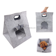 folding dog house hot sale wholesale Puppy Dog Cat Soft Portable Tote Mesh Pet Carrier Bag House Pet dog carriers pet cages