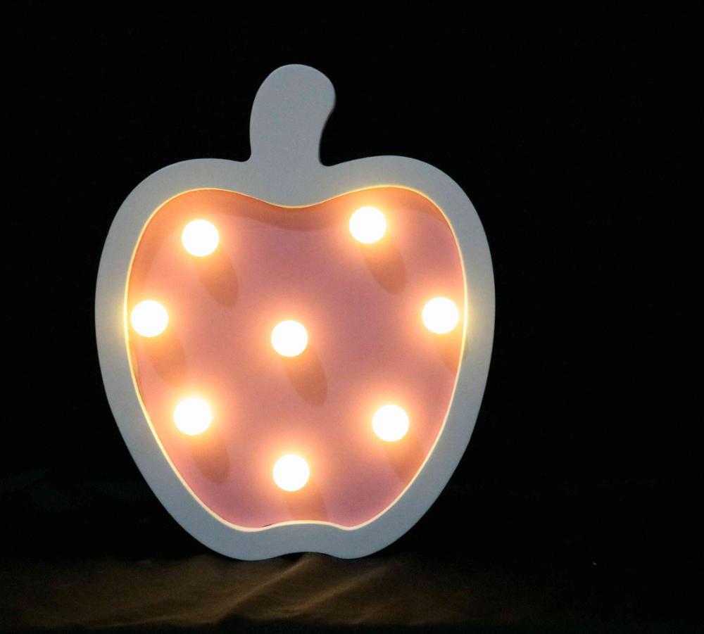 apple cadeau noel 2018 2018 de noël led bureau nuit apple en forme de lampe pour la  apple cadeau noel 2018