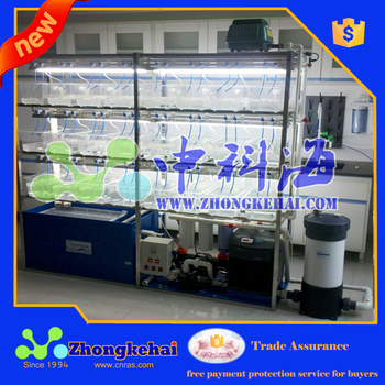 laboratory breeding system for small fish
