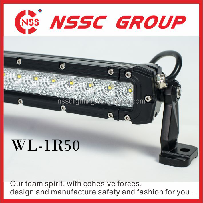 52 Inches Maxi One Row Led Offroad Light Bar