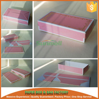 foldable lid and base rectangle cake paper box