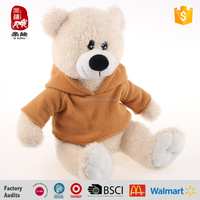 Wholesale Custom Plush Stuffed Teddy Bear Doll Soft Plush Toys In T-shirts