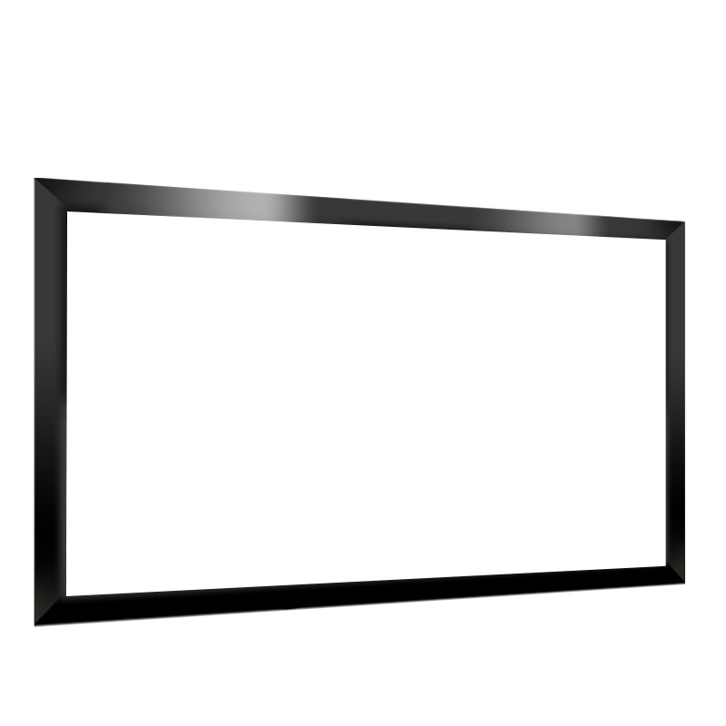 Cheap fixed frame canvas screen