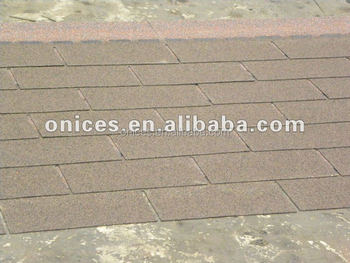 3-tab fibergass asphalt shingle