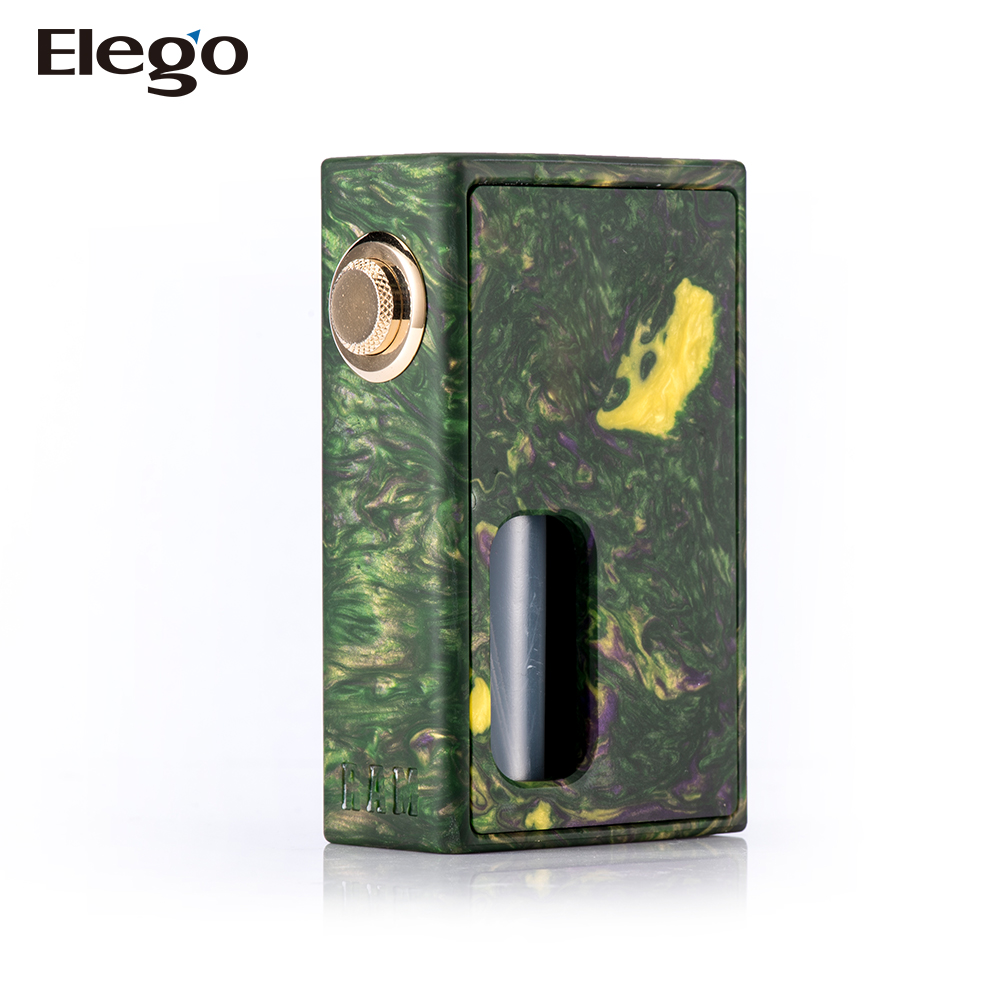Alibaba Wholesale New Popular Box Mod Wood and Resin Stentorian Vapor RAM BF Box Mod with Cheapest Price