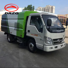cheap price FOTON/Forland truck mounted road cleaning vehicle Vacuum Street Dust Suction Road Sweeper Truck