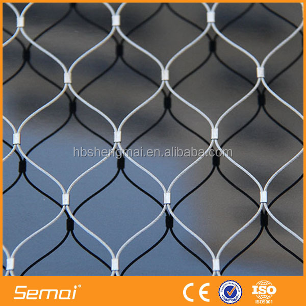 Flexible 316 Stainless Steel Decorative Rope Fence