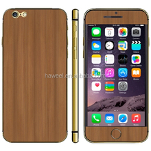 Wood Texture Mobile Phone Decal Stickers for iPhone 6 Plus